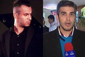 حمله هواداران امیر تتلو به گزارشگر 20:30